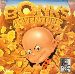 Jaquette de Bonk's Adventure PC Engine
