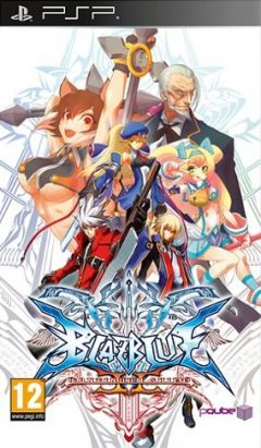 Jaquette de BlazBlue : Continuum Shift II PSP