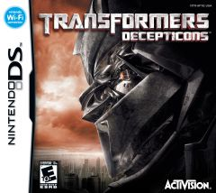 Jaquette de Transformers : The Game DS