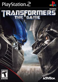 Jaquette de Transformers : The Game PlayStation 2