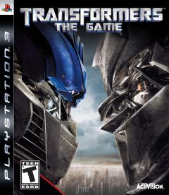 Jaquette de Transformers : The Game PlayStation 3