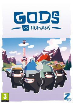 Jaquette de Gods vs Humans PC