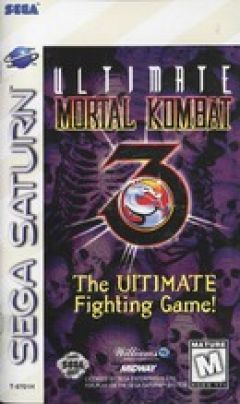 Jaquette de Ultimate Mortal Kombat 3 Sega Saturn