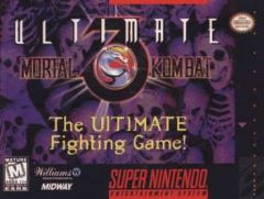 Jaquette de Ultimate Mortal Kombat 3 Super NES