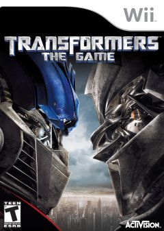 Jaquette de Transformers : The Game Wii