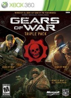 Jaquette de Gears of War Triple Pack Xbox 360