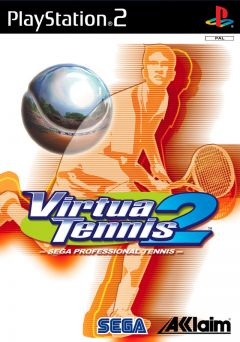 Jaquette de Virtua Tennis 2 PlayStation 2