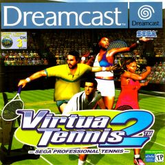 Jaquette de Virtua Tennis 2 Dreamcast