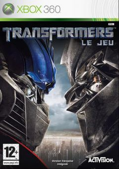 Jaquette de Transformers : The Game Xbox 360