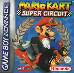 Jaquette de Mario Kart : Super Circuit Game Boy Advance