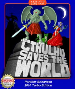 Jaquette de Cthulhu Saves the World Xbox 360