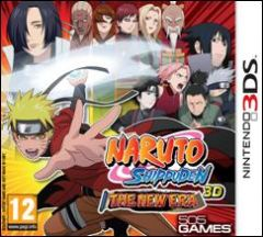 Jaquette de Naruto Shippuden 3D : The New Era Nintendo 3DS