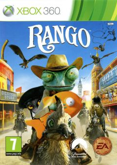 Jaquette de Rango Xbox 360