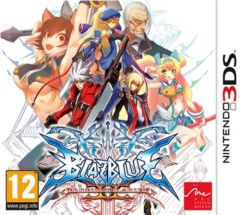 Jaquette de BlazBlue : Continuum Shift II Nintendo 3DS