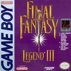Jaquette de Final Fantasy Legend III Game Boy