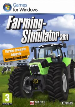 Jaquette de Farming Simulator 2011 PC