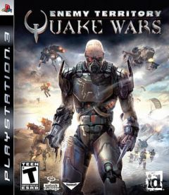 Jaquette de Enemy Territory : Quake  Wars PlayStation 3