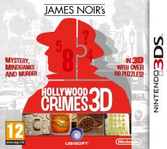 Jaquette de James Noir's Hollywood Crimes Nintendo 3DS