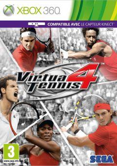 Jaquette de Virtua Tennis 4 Xbox 360