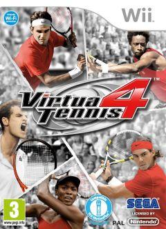 Jaquette de Virtua Tennis 4 Wii