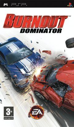 Jaquette de Burnout : Dominator PSP