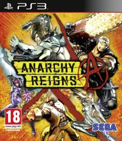 Jaquette de Anarchy Reigns PlayStation 3