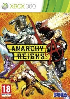 Jaquette de Anarchy Reigns Xbox 360