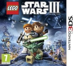 Jaquette de LEGO Star Wars III : The Clone Wars Nintendo 3DS