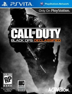Jaquette de Call of Duty : Black Ops Declassified PS Vita