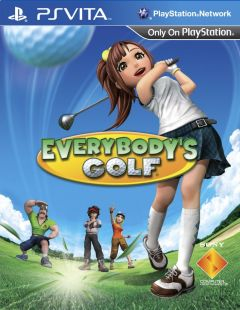 Jaquette de Everybody's Golf World Invitational PS Vita