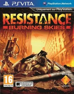 Jaquette de Resistance : Burning Skies PS Vita