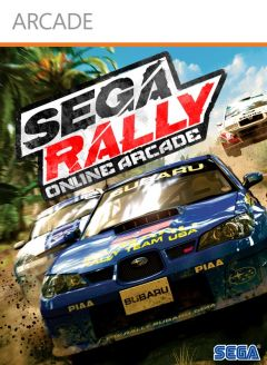 Jaquette de SEGA Rally Online Arcade Xbox 360