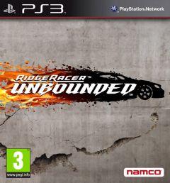 Jaquette de Ridge Racer Unbounded PlayStation 3