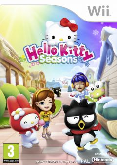Jaquette de Hello Kitty Seasons Wii