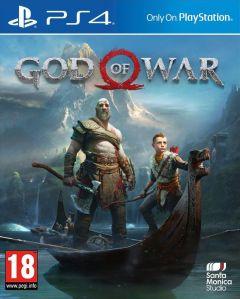 Jaquette de God of War PS4 PS4