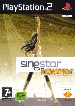 Jaquette de SingStar Legends PlayStation 2