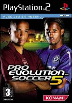 Jaquette de Pro Evolution Soccer 5 PlayStation 2