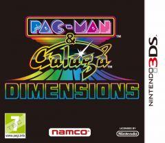 Jaquette de Pac-Man & Galaga Dimensions Nintendo 3DS