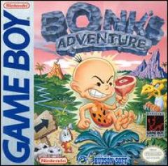 Jaquette de Bonk's Adventure Game Boy