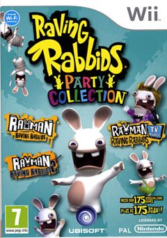Jaquette de The Lapins Crétins : Party Collection Wii