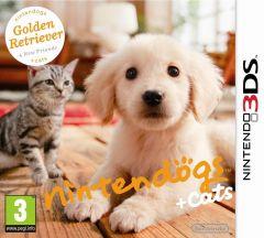 Jaquette de nintendogs + cats Golden Retriever & ses nouveaux amis Nintendo 3DS