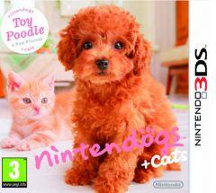 Jaquette de nintendogs + cats : Caniche toy & ses nouveaux amis Nintendo 3DS