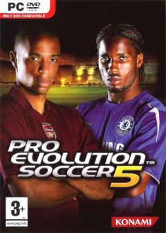 Jaquette de Pro Evolution Soccer 5 PC