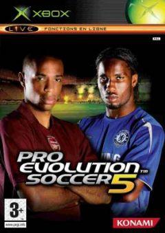 Jaquette de Pro Evolution Soccer 5 Xbox