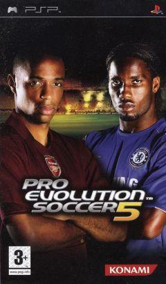 Jaquette de Pro Evolution Soccer 5 PSP