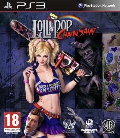 Jaquette de Lollipop Chainsaw PlayStation 3