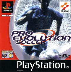 Jaquette de Pro Evolution Soccer PlayStation