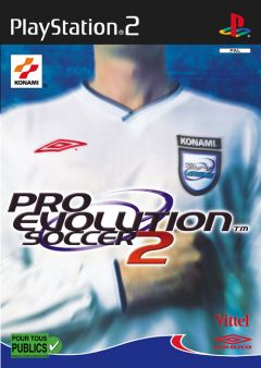 Jaquette de Pro Evolution Soccer 2 PlayStation 2