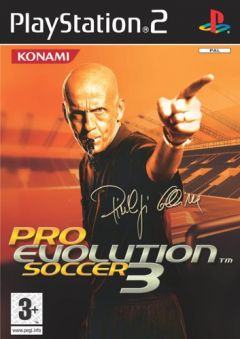 Jaquette de Pro Evolution Soccer 3 PlayStation 2