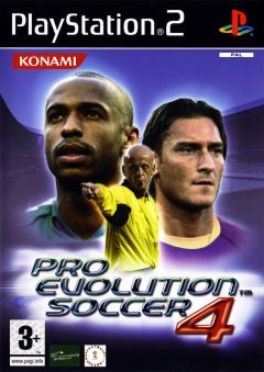 Jaquette de Pro Evolution Soccer 4 PlayStation 2